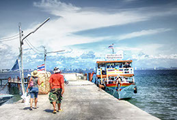 Naban Pier on Koh Larn