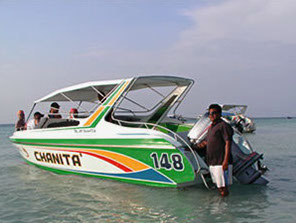 Speed boat to Koh Larn