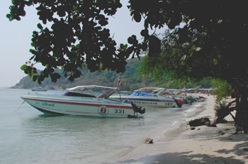 Speed boats to Koh Larn
